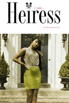 silver Heiress blouse - chartreuse Heiress skirt