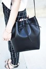 Bucket-mansur-gavriel-bag-oversized-karen-walker-sunglasses
