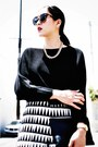 Black-ribbed-cropped-mm6-maison-martin-margiela-sweater-black-celine-bag