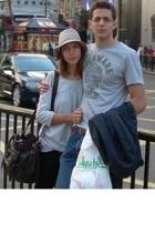 H&M hat - Oysho t-shirt - Zara jeans