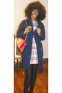 Zara-dress-urban-outfitters-coat-betsey-johnson-bag-h-m-necklace