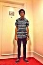 Fourskin-jeans-topman-aztec-shirt-topman-bracelet-vans-e-street-sneakers