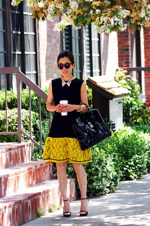 Nha Khanh dress - 31 Phillip Lim bag - Zara heels