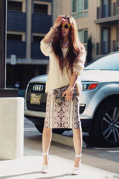 JCrew skirt - Alexander Wang shoes