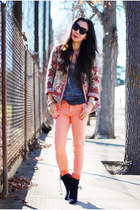 H&M jeans - free people jacket