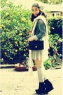 Esprit-jacket-la-rok-skirt-bamboo-boots-chanel-bag