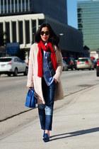 Zara jeans - Celine bag - Alexander Wang heels
