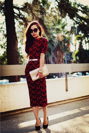 asos dress - Charlie David pumps