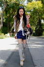 Jeffrey-campbell-shoes-miu-miu-bag-forever-21-shorts-faux-fur-urban-outfit