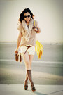 Jeffrey-campbell-shoes-yellow-zara-bag-light-yellow-zara-shorts-brown-zara