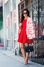 Zara-dress-paul-and-joe-blazer