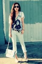 Denimocracy jeans - Be & D bag - Fluxus t-shirt