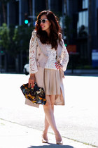 Alexander McQueen bag - Valentina Shah jacket - Zara heels - Zara skirt