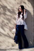 H&M jeans - Zara bag - H&M top