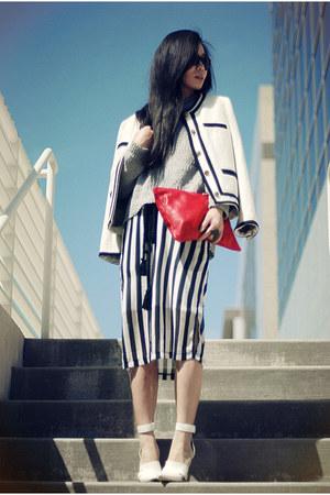 JCrew jacket - Alexander Wang shoes - American Apparel bag