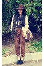Zara-pants-zara-scarf-tory-burch-clogs-victorias-secret-sweater-botkier-