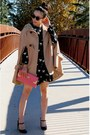 Asos-coat-modcloth-dress-miu-miu-shoes-aldo-bag-zara-sunglasses-ysl-ac