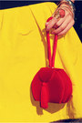 Yellow-lanvin-for-h-m-dress-1-thrifted-bag-red-suede-christian-louboutin-hee