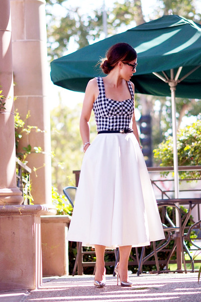 asos skirt - Nanette Lepore top