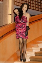 Lanvin for H&M dress - Lanvin for H&M gloves - Charles David heels - Anthropolog