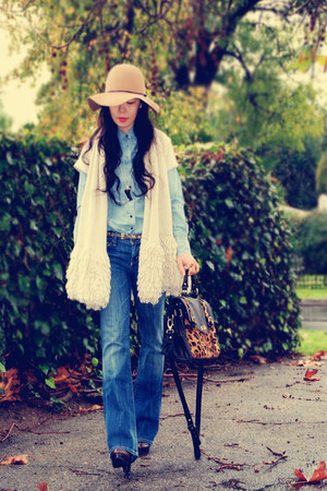 Zara vest - William Rast for Target shirt - Citizen of humanity jeans - Zara boo