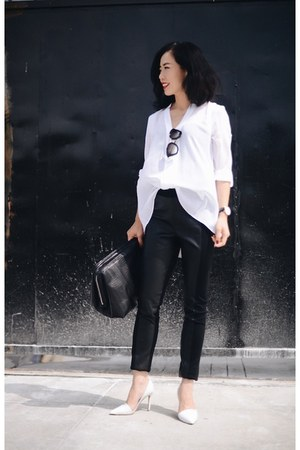 nicole by Nicole Miller leggings - nicole by Nicole Miller shirt