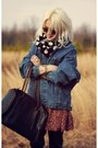Black-aeropostale-scarf-black-beara-beara-bag