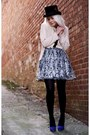 Black-erin-erin-fetherston-dress-blue-target-heels