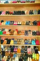 hot pink Christian Louboutin heels