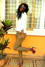 H-m-leopard-round-sunglasses-mustard-pants-color-block-heels
