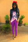 Amethyst-skinny-jeans-bubble-gum-floral-heels