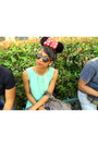 Red-minnie-mouse-headpiece-accessories-navy-vila-blazer-h-m-round-sunglasses