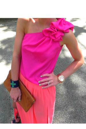sheer slit Zara skirt