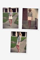 Urban Outfitters shirt - Zara dress