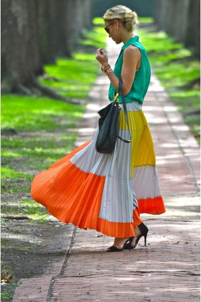 Anthropologie skirt - Nordstroms blouse