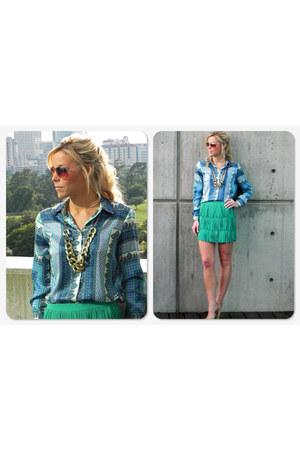 Zara blouse - Zara skirt