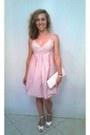 Zara-shoes-striped-dkny-dress-fullah-sugah-purse-hoops-watch