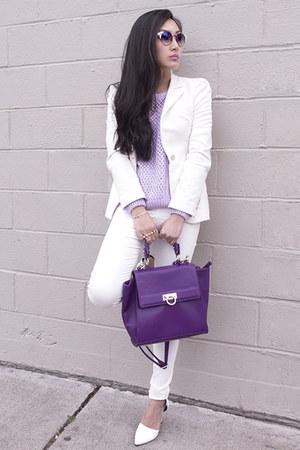 Haute1 ring - asos jeans - Zara blazer - Haute1 bracelet