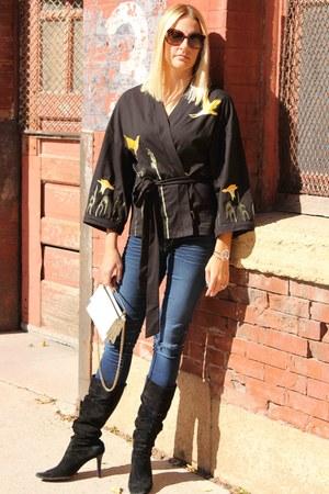 eshakticom jacket - Vintage Ande Bag bag