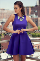 blue Haute Rogue dress