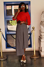 Red-off-shoulder-aliexpress-blouse-heather-gray-aliexpress-pants