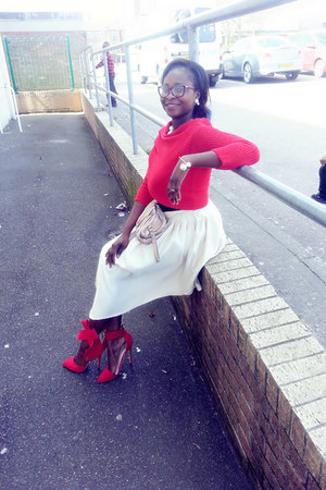 clutch next purse - red DressLink jumper