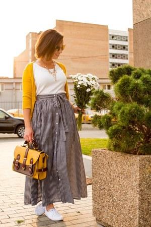 modcloth bag - maxi skirt shein skirt