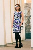 star wars modcloth purse - Target boots - Lilac Cove Boutique dress