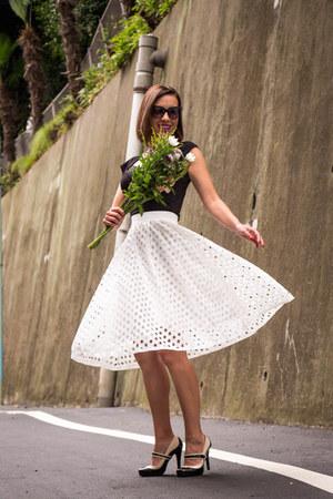 midi shein skirt