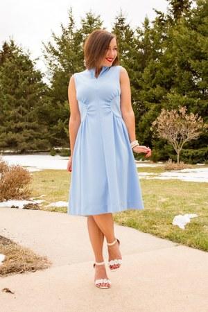 vintage Alison Ayres dress - flower modcloth heels