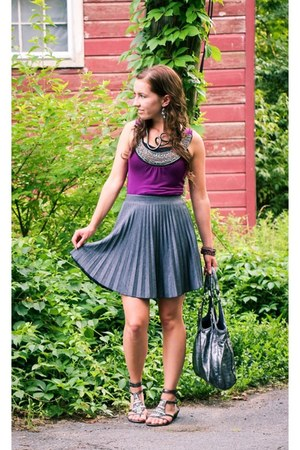 pleated skirt modcloth skirt