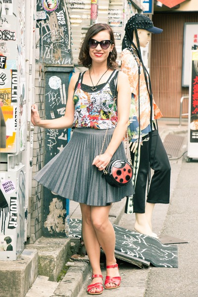 pleated skirt modcloth skirt