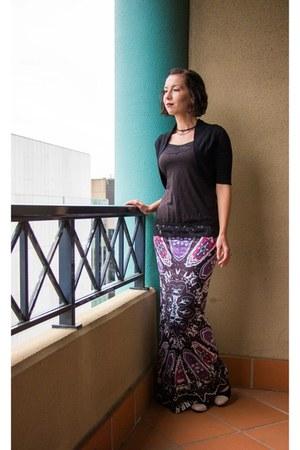 maxi zaful skirt