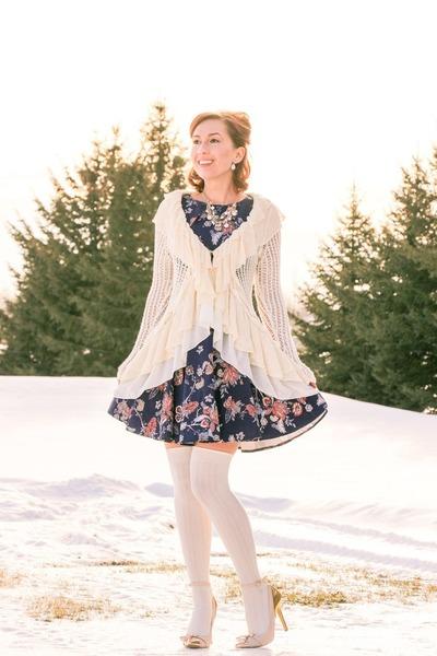 floral print modcloth dress